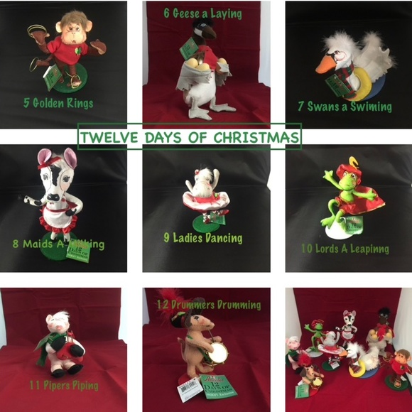 Annalee Holiday Annalee 2 Days Of Christmas 1 Lords A Leapingnwt Poshmark